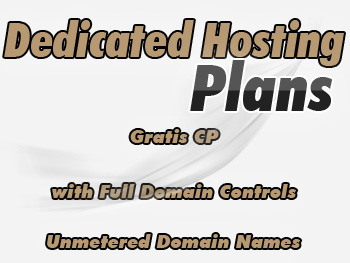 Affordable dedicated servers plans